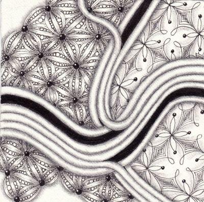 Zentangle im CIELO